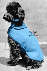 crochet pattern for dog coat miss julia s patterns free patterns 20 dog sweater coats to knit