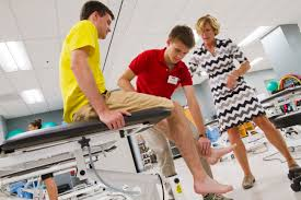 physical therapy u0026 athletic training lab college health