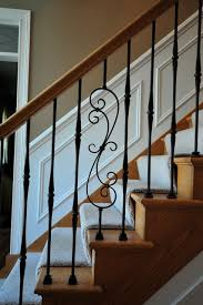 Iron Grill Design For Stairs Interior Staircase Traditional Staircase Chicago By