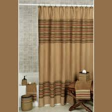 Southwest Shower Curtains Waves Chevron Southwest Shower Curtain