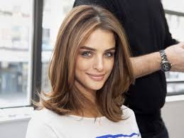 brown hair medium length hairstyles stylish ombre hairstyle for wavy hair medium length haircuts
