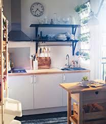 Floating Kitchen Shelves by Kitchen Shelf Arrangement Painted Brick Walls Floating Kitchen