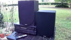 klh home theater system klh speakers youtube