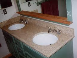double bowl vanity with undermount china sinks
