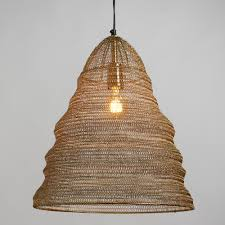 feathered antique brass drum pendant shade world market