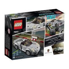 lego porsche minifig scale amazon com lego 75910 porsche 918 spyder toys u0026 games