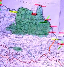 Map Of Nepal And Tibet by Experiencing Nepal China Kodari Khasa Border Crossing Border