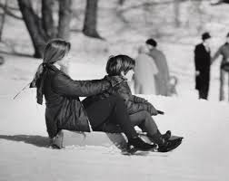 10 photos of kennedys playing in the snow john kennedy jr