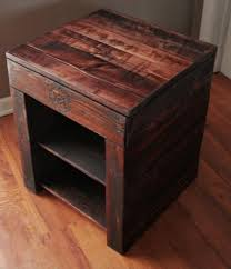 Wood Plans For Bedside Table by 596 Best Diy Wood Projects Images On Pinterest Pallet Ideas