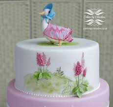 jemima puddleduck christening cake cake by christine drew cake
