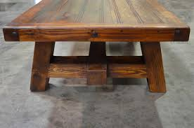 coffee table fabulous reclaimed wood square coffee table rustic