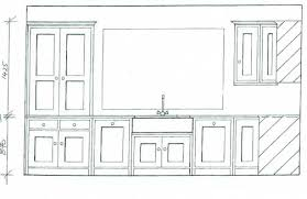 Standard Width Of Kitchen Cabinets Bespoke