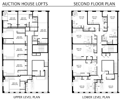 second floor plans floorplans the auction house