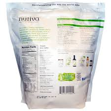 nutiva organic hemp seed raw shelled 5 lbs 2 27 kg iherb com
