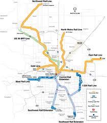 denver light rail expansion map retrofitting a rocky mountain metropolis
