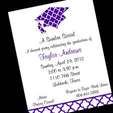 graduation invitation wording dancemomsinfo