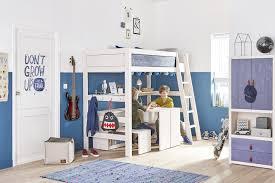 chambre enfant mezzanine chambre enfant écologique avec mezzanine et bureaux multifonctions
