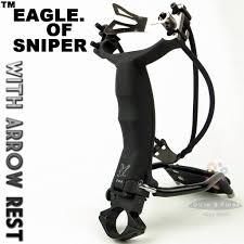 2018 eagle of sniper slingshot hunter catapult with arrow rest