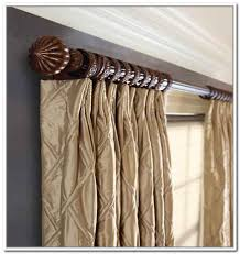 Wooden Curtain Rods Walmart Wood Curtain Rods Eulanguages Net