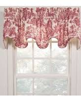 Toile Window Valances Red Toile Valances Deals U0026 Sales At Shop Better Homes U0026 Gardens
