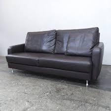ewald schilling sofa ewald schillig designer sofa brown leather three seat