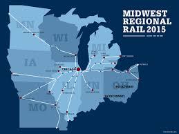 Chicago Airport Train Map by Cincinnati Indianapolis Chicago Campaign All Aboard Ohio