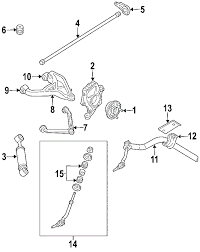 2005 dodge dakota front suspension diagram parts com genuine factory oem 2005 dodge durango slt v8 5 7