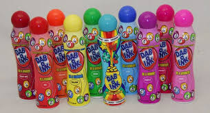 1 scented bingo daubers mixed dabber colors