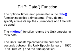 varchar date format php php date function the php date function formats a timest to