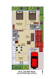 house map design 20 x 50 100 home design for 20x50 plot size colors house plan plot for