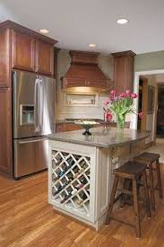 all about kitchen islands wine rack