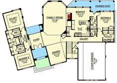 House Plans With Media Room Fox River Luxury Home Second Floor From Houseplansandmore Com