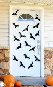 Door Decorations For Halloween 10 Spooky Diy Door Decorations For Halloween Recyclenation