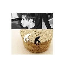 exo earrings kpop support stud earrings exo tao buy online in ksa products