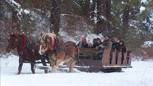 leavenworth wa light festival leavenworth sleigh ride and christmas lights festival seattle