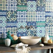 Mediterranean Tiles Kitchen - moroccan tile backsplash add the charm of the mediterranean sea
