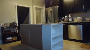 space around kitchen island building a kitchen island small space style