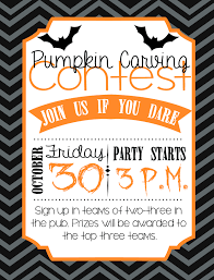 free printable scary halloween invitations our october fun day at cri was a pumpkin carving contest here u0027s