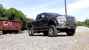 nissan frontier lift kit 2016 nissan titan xd 6 inch suspension lift kit by rough country 1