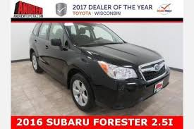 Subaru Forester Rugged Package Used Subaru Forester For Sale In Milwaukee Wi Edmunds