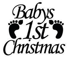 Baby S First Christmas Bauble Ebay by Babys 1st Christmas Bauble Ebay