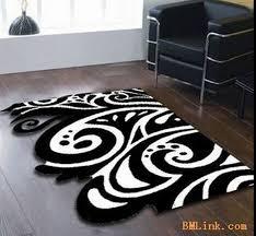 tappeti moderni bianchi e neri tappeti da soggiorno moderni tappeto a pelo lungo beau cosy with