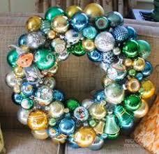 diy vintage ornament wreaths