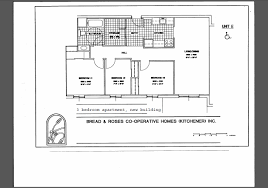 bread and roses co operative homes kitchener waterloo ontario