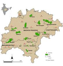 India Population Map by Connecting The Tigers U2013 Cool Green Science