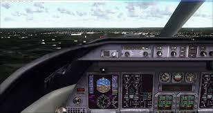 fsx manual bombardier learjet 45 landing youtube