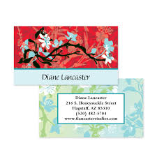 Calling Business Cards Asian Impressions Double Sided Calling Cards Business Cards