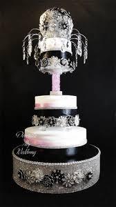 decorate my wedding crystal wedding cake stands