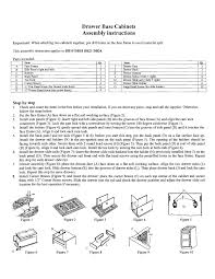 How To Assemble Kitchen Cabinets Rta Cabinet Assembly Instructions Jsi Kitchen Cabinets