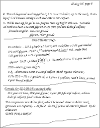 examples of notebook pages
